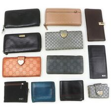 Gucci Leather Enamel Nylon Wallet Key Case 12 pieces set 517597