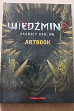 ARTBOOK from WITCHER 2: Assassins of Kings - PC COLLECTOR'S POLISH EDITION
