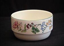 Seagoe Fine Ceramics Ireland Serving Bowl w Floral Honeysuckle Blackberry Design