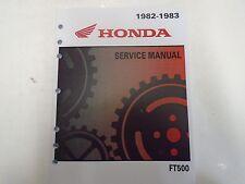 1982 1983 HONDA FT500 ASCOT Service Shop Repair Manual FACTORY NEW DEALERSHIP