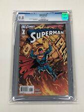 Superman #1  DC Comic Book CGC 9.8 George Perez 2011