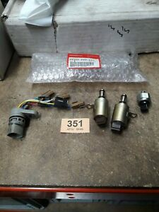 HONDA ACCORD AUTOMATIC GEARBOX SOLENOIDS PRESSURE SWITCH & CASE HARNESS