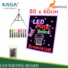 2020 80x60cm Led Writing Board Neon Sign Signage Fluorescent Light Remote