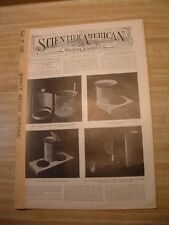 Scientific American S-7/9 1910-Bayer's Submarine Boat-Steam Turbine-Comets Tails