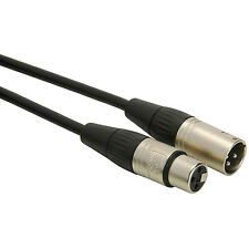 Talent MC01 Microphone Cable XLR Female to XLR Male 1.5 ft.