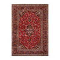 "8'7"" x 11'11"" Hand Knotted 100% Wool Tabrizz Traditional Oriental Area Rug Red"