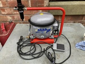Clarke Air shhh Air30 Ultra Quiet Airbrush Compressor With Foot Pedal