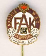old FK AUSTRIA Wien PIN Badge FOOTBALL SOCCER Club VIENNA FAK WAC Elementar