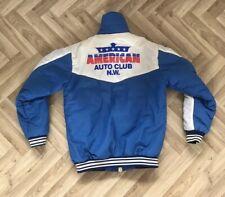 Rare Genuine Vintage American Auto Club N.W. Car Club Members Padded Jacket 80's