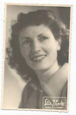 BP341 Carte Photo vintage card RPPC Femme portrait actrice actress chanteuse ?