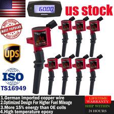 Set of 8 Upgradeenergy Ignition Coils for Ford F-150 E-150 Mercury DG508 DG491