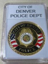 CITY OF DENVER Police Dept. Challenge Coin