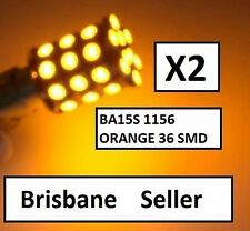 Turn Indicator LED Bulbs BAU15S 1156PY PY21 36 SMD AMBER Orange E90 E91 F30 E60