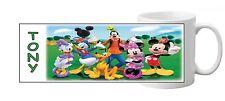 Mug ( Tasse ) personnalisé La Maison De Mickey  Version 1 avec prenom