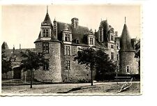 Large Historic Home-Chateaubriant-France-RPPC-Joel Real Photo Vintage Postcard