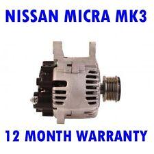 NISSAN MICRA MK3 MK III 1.5 2003 2004 2005 2006 2007 - 2010 ALTERNATOR