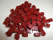 +  LEGO CITY   80  weinrote  Bausteine  1 x 1  Noppen   NEU  +