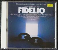 Beethoven : Fidelio. Gwyneth Jones, Edith Mathis. 1 CD.Deutsche Grammophon 1969