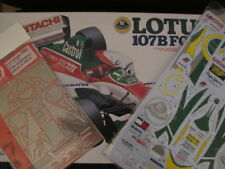 1/20 Tamiya Lotus 107B Ford with Decals for 107C conversion  + PE-Parts