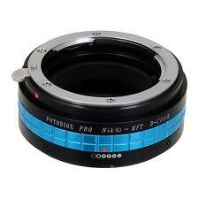 Fotodiox Objektivadapter Pro Nikon G Linse MFT Micro 4/3 Four Third D-Click