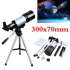 F30070M MONOCULAR SPACE ASTRONOMIC PRO REFLECTOR TELESCOPE TRIPOD 150 SCOPE GIFT