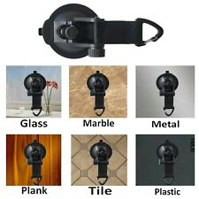 4x Tie Down Anchor Suction Cup Strap For Camping Car/Truck/Suv/Van Roof Top Tent