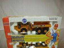 JOAL COMPACT 238 VOLVO BM A35 ARTICULATED DUMP TRUCK - YELLOW 1:50 - GOOD IN BOX