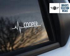 BMW Mini Cooper is in my Blood window sticker decals graphic