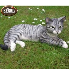 Katze groß  Gartendeko Keramikfigur