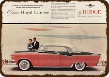 1955 DODGE ROYAL LANCER Car - GALLANT & GAY - Vintage Look REPLICA METAL SIGN