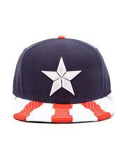 OFFICIAL MARVEL'S CAPTAIN AMERICA: CIVIL WAR CAP STAR SNAPBACK CAP (BRAND NEW)
