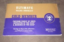 Vintage 2008 Royal Caribbean Gold Member Coupon Book
