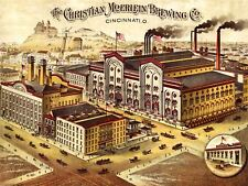 Advertising Drink Brewery Christian Moerien Cincinatti USA Canvas Print