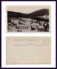 CANADA ONTARIO MARATHON TOWN CENTER LOOKING SW CHAPPLES REAL PHOTO CIRCA 1947