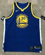 Nike Areoswift Men's Basketball Jersey Golden State Warriors #30 Curry Sz 58 3XL
