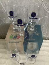 More details for lowenbrau stem glass pint glasses box of six brand new