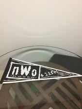 Vintage WCW NWO New World Order 4 Life Wincraft Full Size Wrestling Pennant Flag