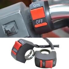 Unique Motorcycle ATV Handlebar Switch ON / OFF Button Controller LED Light