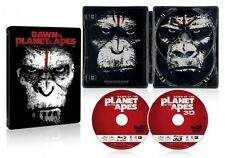 Dawn of the Planet of the Apes (Rising)3D 2D Blu-ray set steel book 2,500Limited