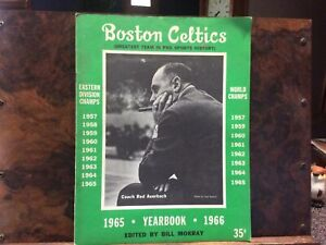 Boston Celtics 1965-66 Yearbook
