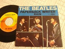 THE BEATLES  PAPERBACK WRITER/RAIN  CAPITOL 5651 W/PICTURE SLEEVE