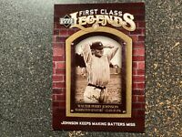 Walter Johnson Senators 2006 Upper Deck First Class Legends GOLD #92 (#d 18/699)