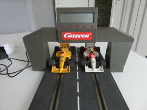 Carrera elektronischer Rundenzähler 71590  mit Trafo für Exclusiv,Evolution ,Go,