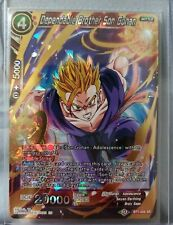 Dependable Brother Son Gohan Bt7-006 Sr Dragon Ball Super Tcg Mint