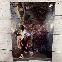 """Michael Jordan - 1989 Wheaties / Nike Graffiti Poster (16"""" x 23"""") Air Jordan Vtg"""