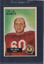 1955 Bowman #011 Bill Austin Giants VG/EX 55B11-122415-1