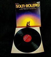 Solti Bolero The Chicago Symphony Orchestra Record Vinyl Imported From England