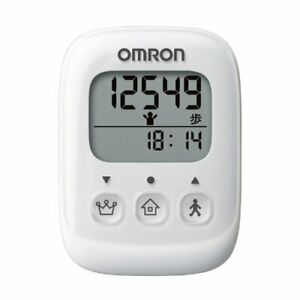 OMRON pedometer white HJ-325-W From Japan