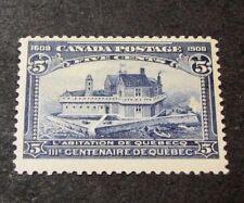 Canada Scott# 99 Quebec Tercent. Issue Champlain's Home  MLH 1908 C453