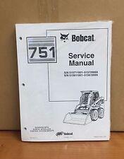 Bobcat 751 Skid Steer Loader Service Manual Shop Repair Book 6900443
